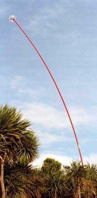The Len Lye Foundation - Wind Wand, 1996