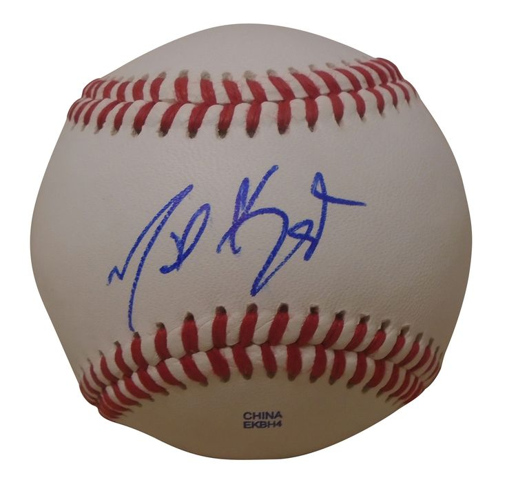 Chicago White Sox Michael Kopech signed Rawlings ROLB leather baseball w/ proof photo. Proof photo of Michael signing will be included with your purchase along with a COA issued from Southwestconnection-Memorabilia, guaranteeing the item to pass authentication services from PSA/DNA or JSA. Free USPS shipping. www.AutographedwithProof.com is your one stop for autographed collectibles from Chicago sports teams. Check back with us often, as we are always obtaining new items.