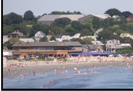 Johnny's Atlantic Beach Club  Newport RI.  Great way to spend a Sunday afternoon
