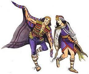 Baile mapuche que se efectúa en el Niguillatum, y forma parte de la rogativa.