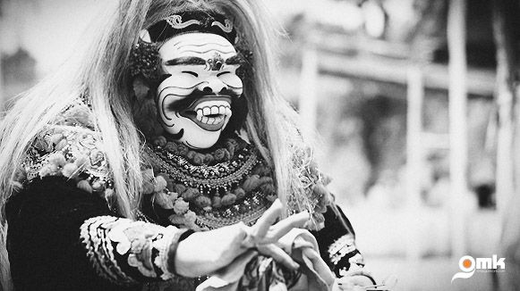 Balinese Culture : Melaspas