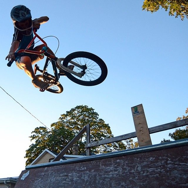 Nice tabletop air from a 10 year old! http://www.instagram.com/bmxgroms Instagram photo by @bmxgroms (BMX Groms)