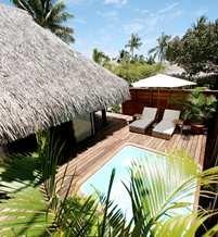 Garden Bungalow with Pool - Hilton Moorea Lagoon Resort and Spa