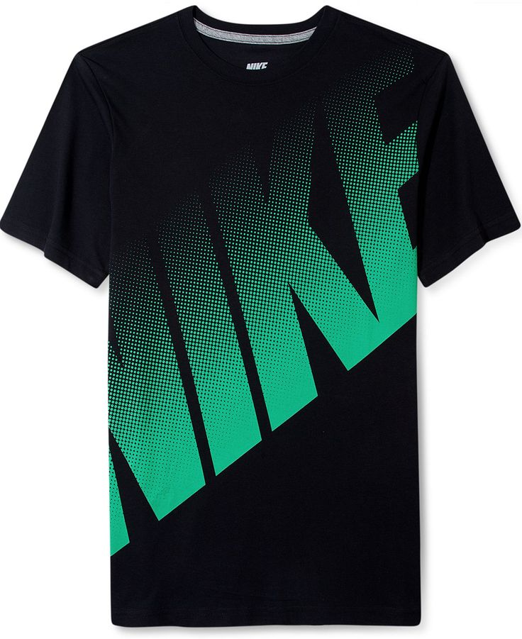 nike shirt big dot logo t shirt t shirts men macy 39 s