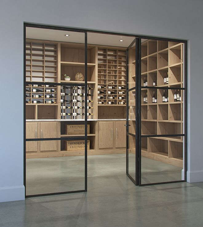 Wine Cellar In 2020 Glass Wine Cellar Home Wine Cellars Wine