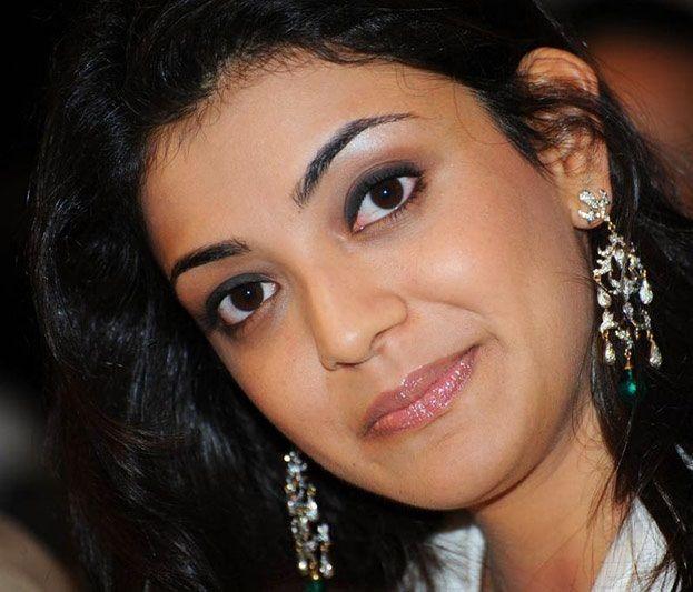 Kajal Agarwal Face Closeup Hot Looking Photos