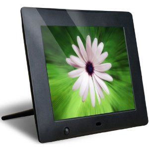 NIX 8 Inch Digital Photo Frame. Motion Sensor turns frame ON/OFF automatically when it senses you nearby! $59.99 as of this writing