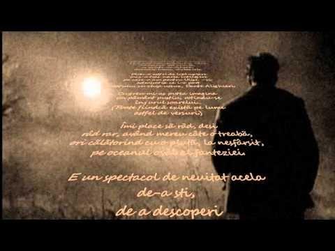 Nichita Stănescu - Sunt un om viu#poezie #Romania  www.elianacorina.com www.fluxymedia.com