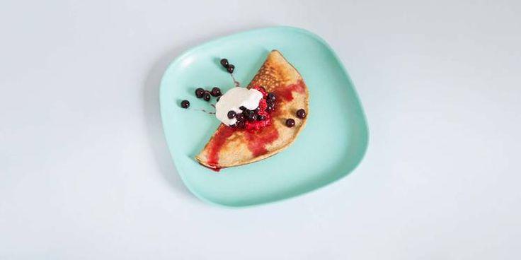Tilbake i form? Oppskrift på sunne proteinpannekaker av Jonas Lundgren #treningsmat #jonaslundgren