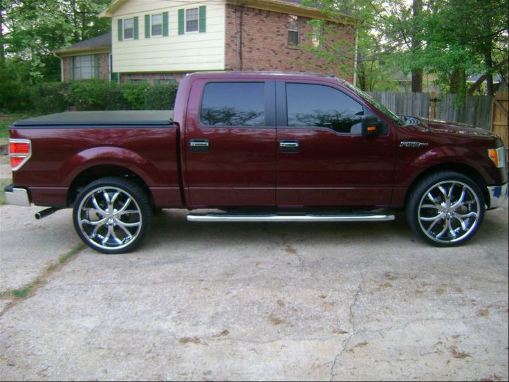 2015 F150 Lifted >> F150 Rims | f150 on rims | Bo trucks | Pinterest | Ford, Ford f150 accessories and 2011 ford f150