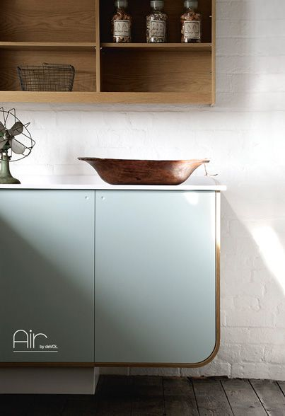Air by deVOL | Airstream Kitchen | Absofreakinlutely adore.