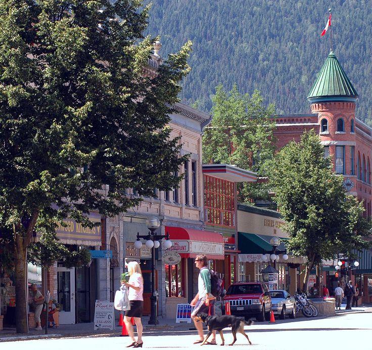 Baker Street Nelson, BC