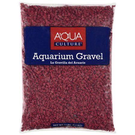 Aqua Culture Red Chip Aquarium Gravel, 5 lb