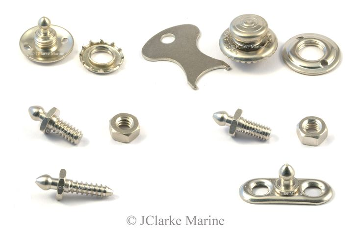 Tenax fasteners are used on many boat covers but also a wide range of classic car, sports car and kit car hoods. We sell the genuine Tenax fasteners on a daily basis