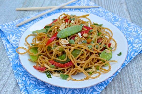 The Fountain Avenue Kitchen – Sesame Peanut Noodles