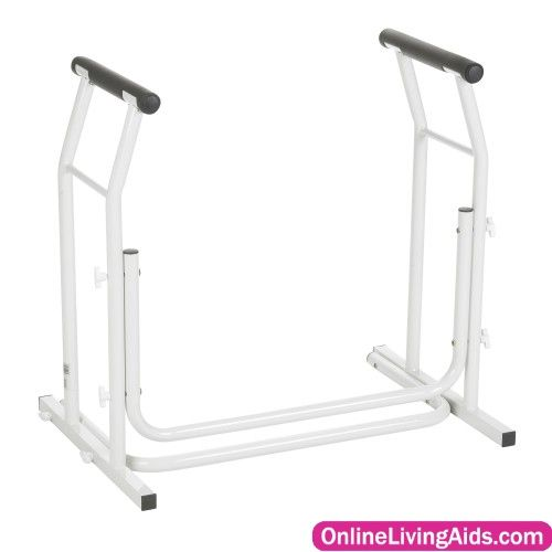 Drive Medical - rtl12079 - Stand Alone Toilet Safety Rail