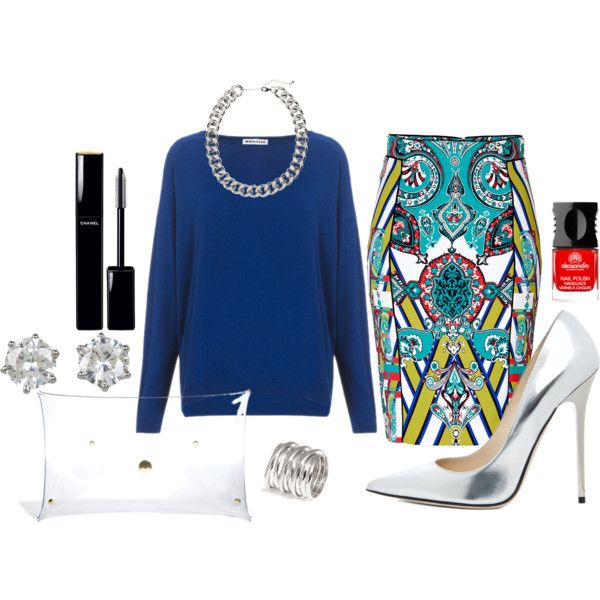 """Feeling blue"" by bloobaz on Polyvore"