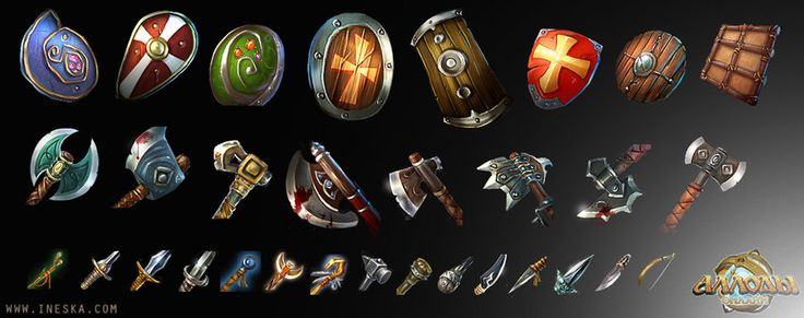 Items for allods by *ines-ka on deviantART