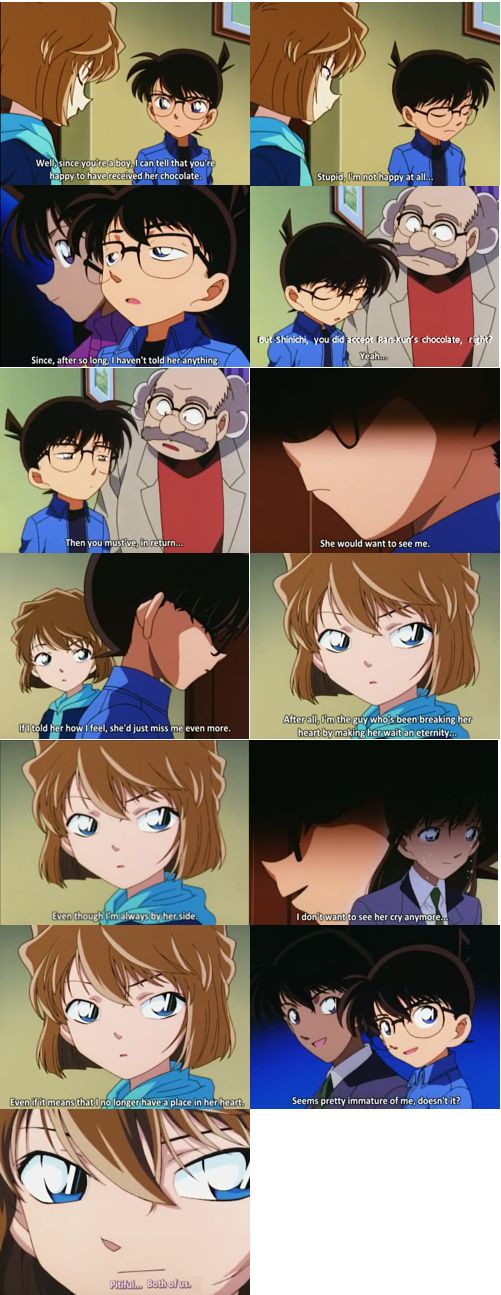 I don't want to see her cry anymore... Detective Conan Episode 271-272