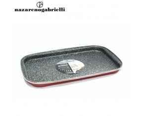 www.sconticasa.it  Piastra cottura con rivestimento antiaderente  Adatta per esaltare la qualità dei sapori  Realizzata da Nazareno Gabrielli