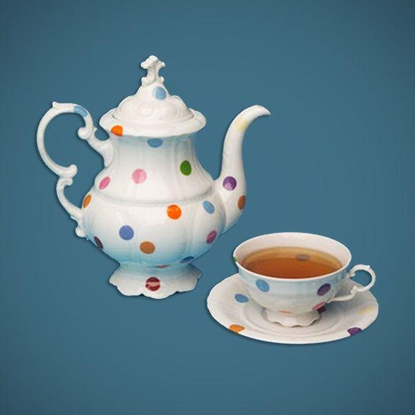 Legendary Pink Dots Tea Set by Maxim Velcovsky by Qubus Design Studio