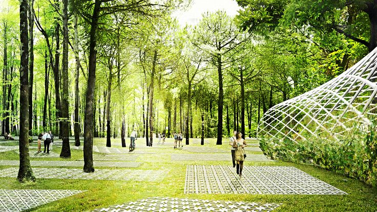 DROR's Parkorman Park in Istanbul Will Let Visitors Trampoline through the Treetops