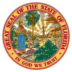 The State of Florida Official Seal. This is who Dash Around Tours pays quarterly sales taxes to.
