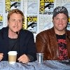 Adam Baldwin and Alan Tudyk at event of Firefly