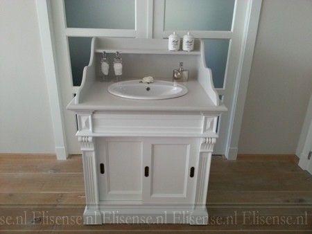 Badkamer Meubel Landelijk : Badkamermeubel celeste landelijke badkamermeubels
