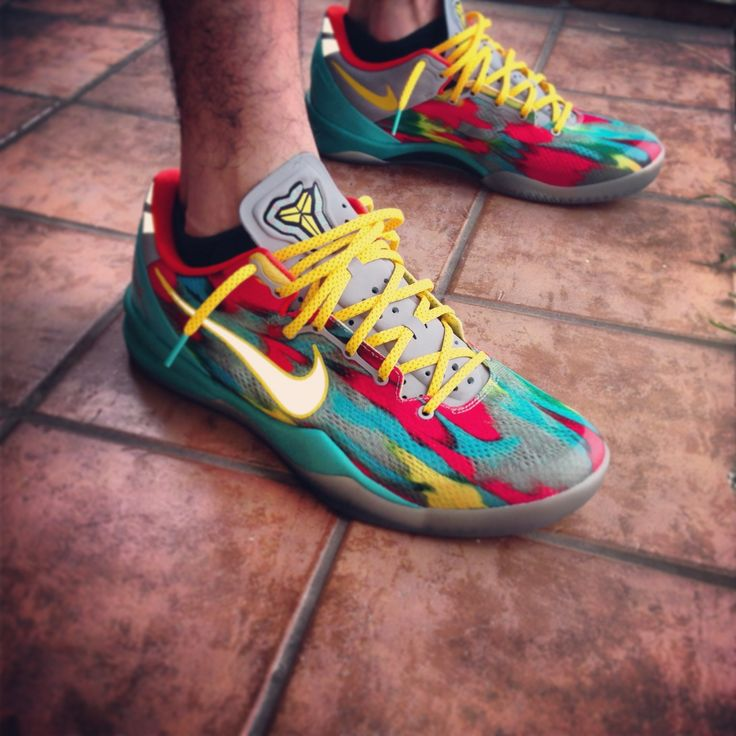 Kobe 8 venice beach on feet
