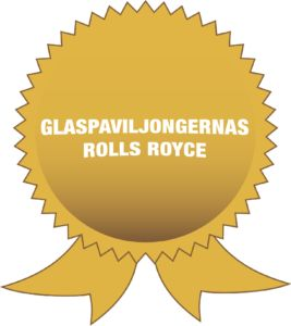 Glaspaviljongernas rolls royce