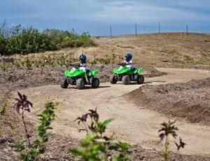 Kids quad bike fun on #HamiltonIsland
