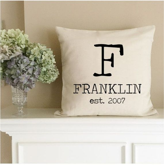Personalized Pillow Cases on Pinterest Personalized pillows, Pillow ...