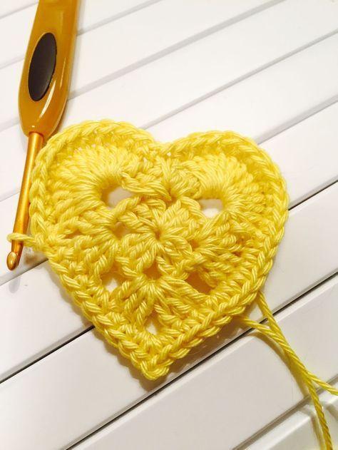 crochetfairy.blogg.se - Mönster virkade hjärtan