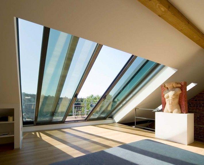 die besten 25 loft umbauten ideen auf pinterest dachausbau schlafzimmer dachgesims im. Black Bedroom Furniture Sets. Home Design Ideas
