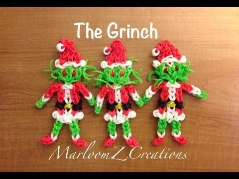 cool Rainbow Loom: The Grinch That Stole Christmas