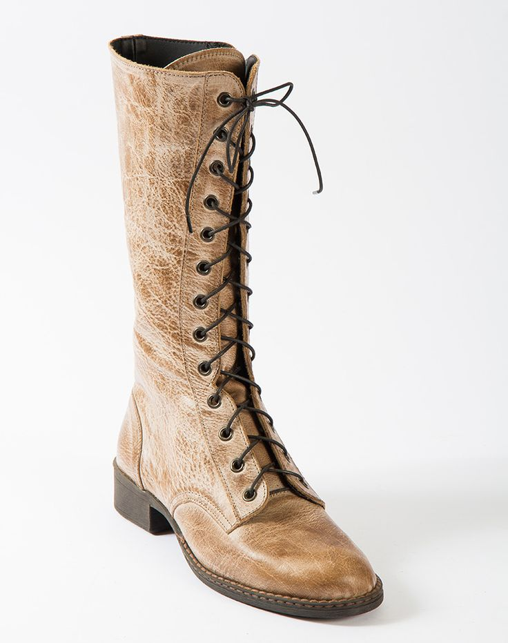 Winter 2017 : TALL LACE-UP BOOT