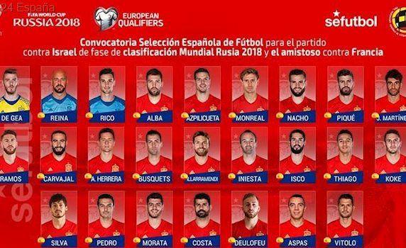 Lopetegui y sus listas con la selección española: estos son sus pretorianos