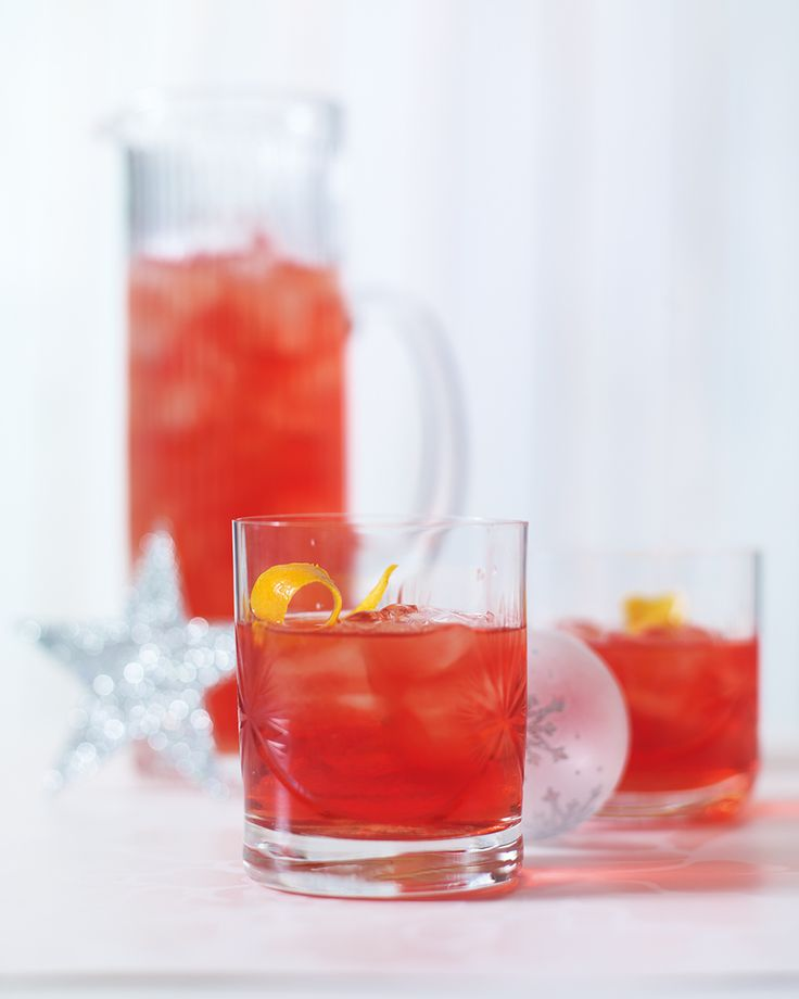 This classic Italian cocktail combines gin with sweet and bitter flavours for a festive drink that's perfect for Christmas or New Years Eve celebrations.