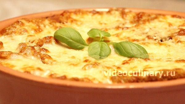Баклажаны с сыром пармезан от videoculinary.ru
