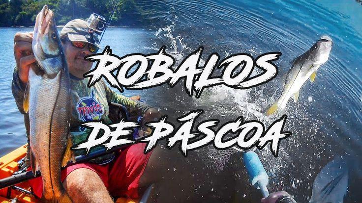 Robalos de Páscoa - Briga Boa - Pesca com Caiaque