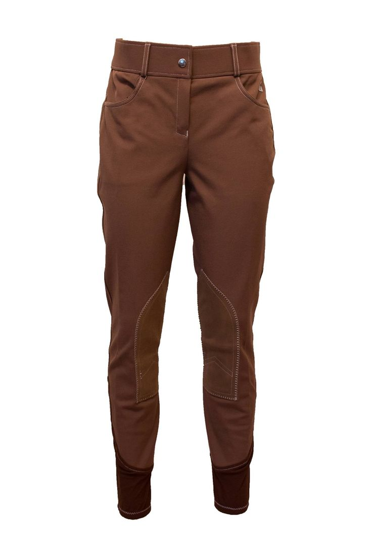 John Whitaker Ivy Ladies Breeches in Brown | ONLY £28.00 a pair! | Autumnal colours | Caramel Brown | Lofthouse Equestrian
