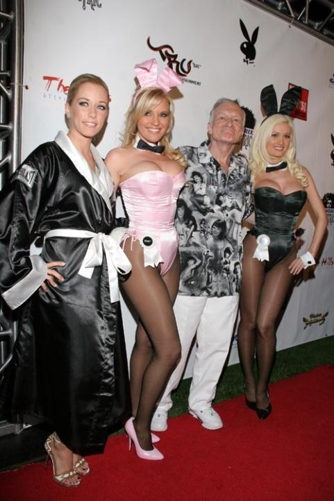 Hugh hefner 7 girlfriends