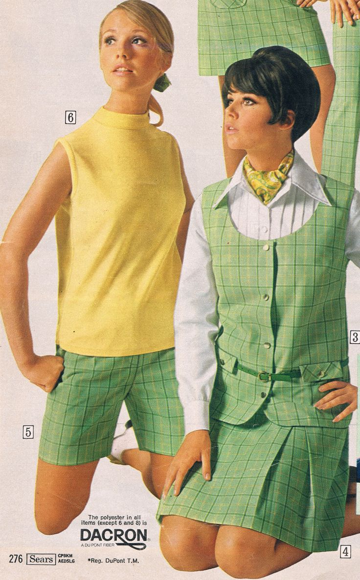 Sears catalog 60s.  Cay Sanderson and Colleen Corby.