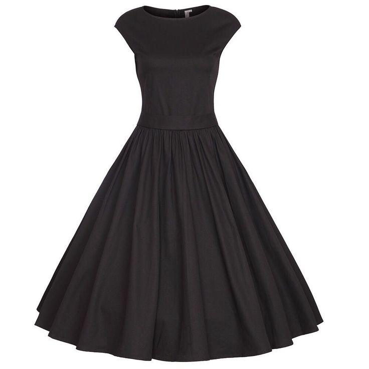 Europe Hepburn style retro black dress short white cap rotator cuff Slim put on a large bow skirt dress bridesmaid dress