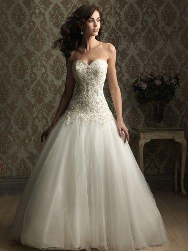 25+ best ideas about Drop Waist Wedding Dress on Pinterest ...
