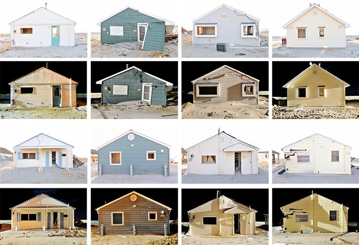Collection Typology from the Typologist: Typology of day/night cottage portraits. Photography by Douglas Ljungkvist.