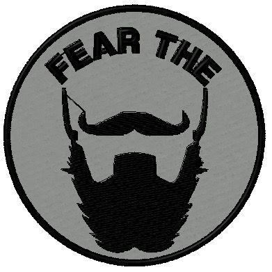 OMLpatches.com - FEAR THE BEARD MORALE PATCH, $6.50 (http://www.omlpatches.com/fear-the-beard-morale-patch/)