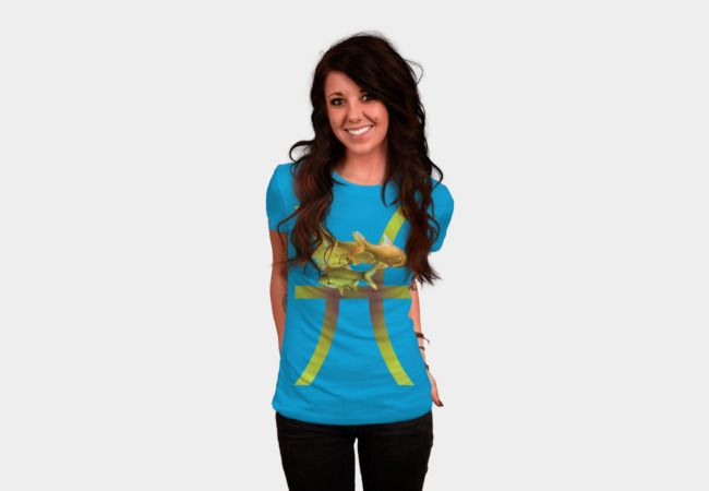 sign  fish,  Pisces T-Shirt - Design By Humans