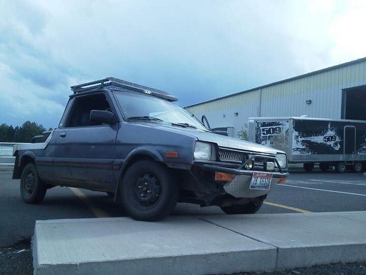 Flatbed Justy | Subarus we loved & lost!